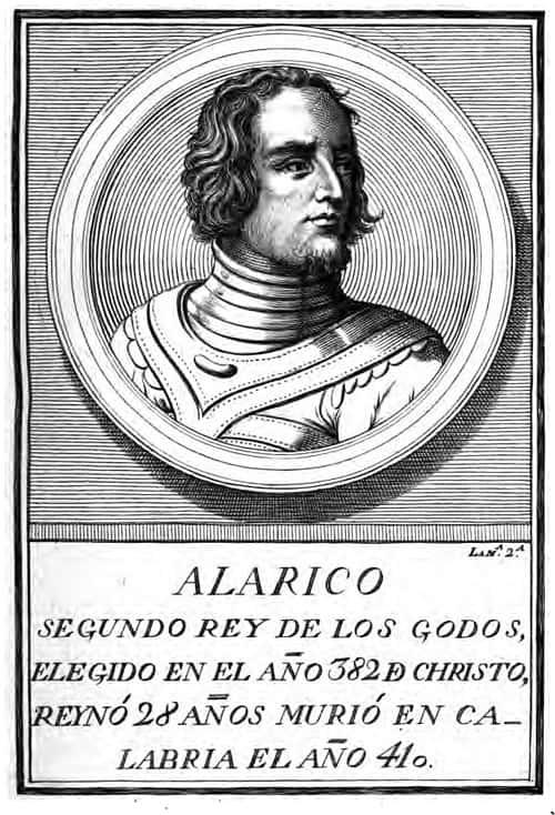 Alarico I rey de los visigodos