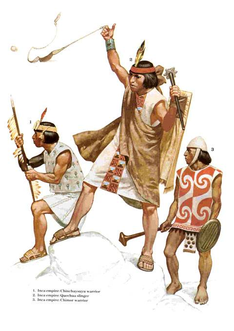 Guerreros Inca