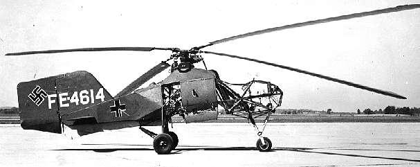 Helicóptero Flettner Fl 282