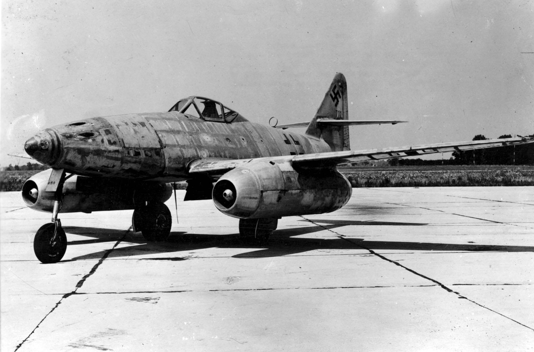 Messerschmitt Me 262, primer caza a reacción del mundo