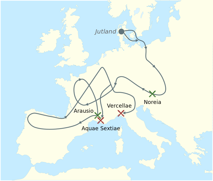 primera invasion barbara