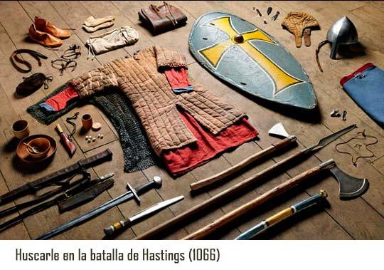 Vestimentas de batalla hastings