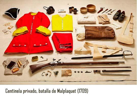 Vestimentas de batalla malplaquet