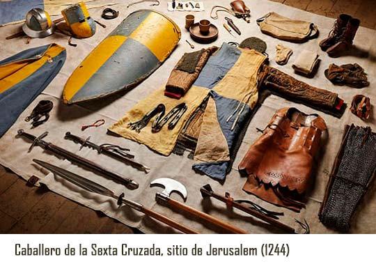 Vestimentas de batalla sitio de jerusalem