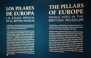 Exposicion los pilares de Europa