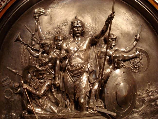 Meroveo merovingio rey de los francos
