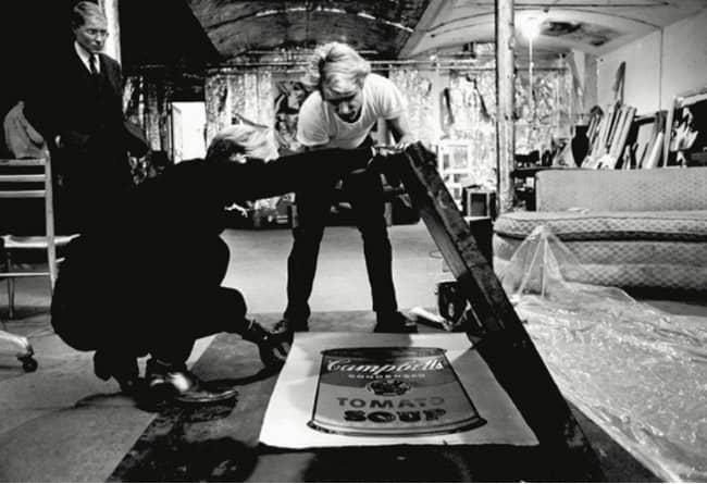 Andy Warhol pop-art
